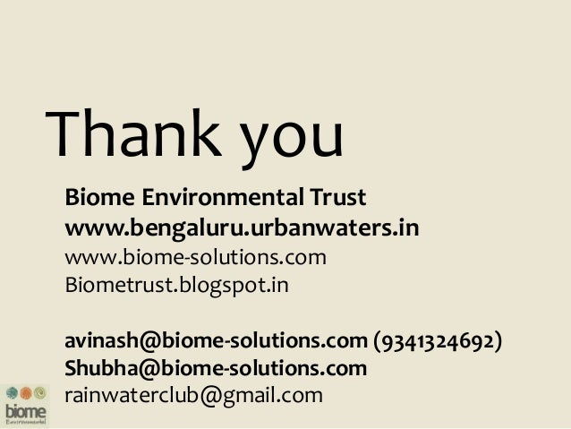 Restoration of Urban Blue Acres_Biome Water for Cities