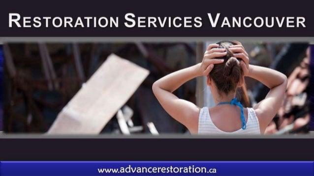 Restoration Services Vancouver