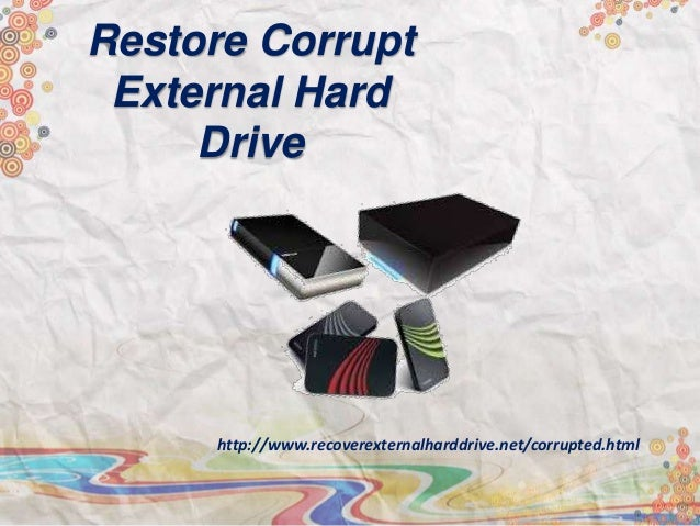 how to save a corrupted hard drive