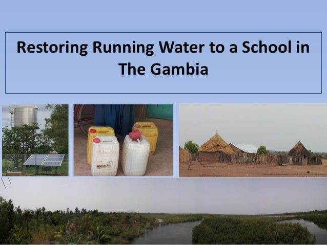 Restoring Running Water to a School in The Gambia