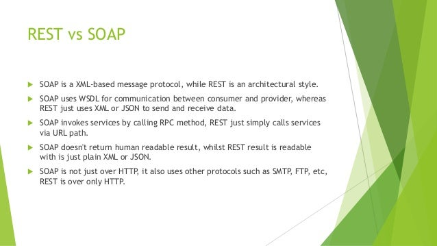 REST & RESTful Web Services