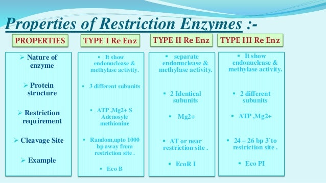 Eco PI 19 Applications Of Restriction Enzymes