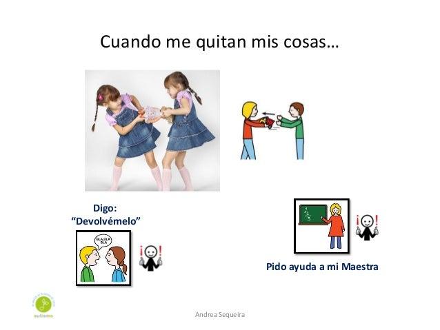"Cuando me quitan mis cosas… Digo: ""Devolvémelo"" Pido ayuda a mi Maestra Andrea Sequeira"