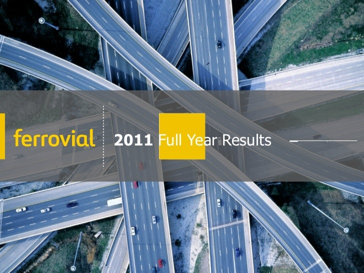 2011 Full Year Results