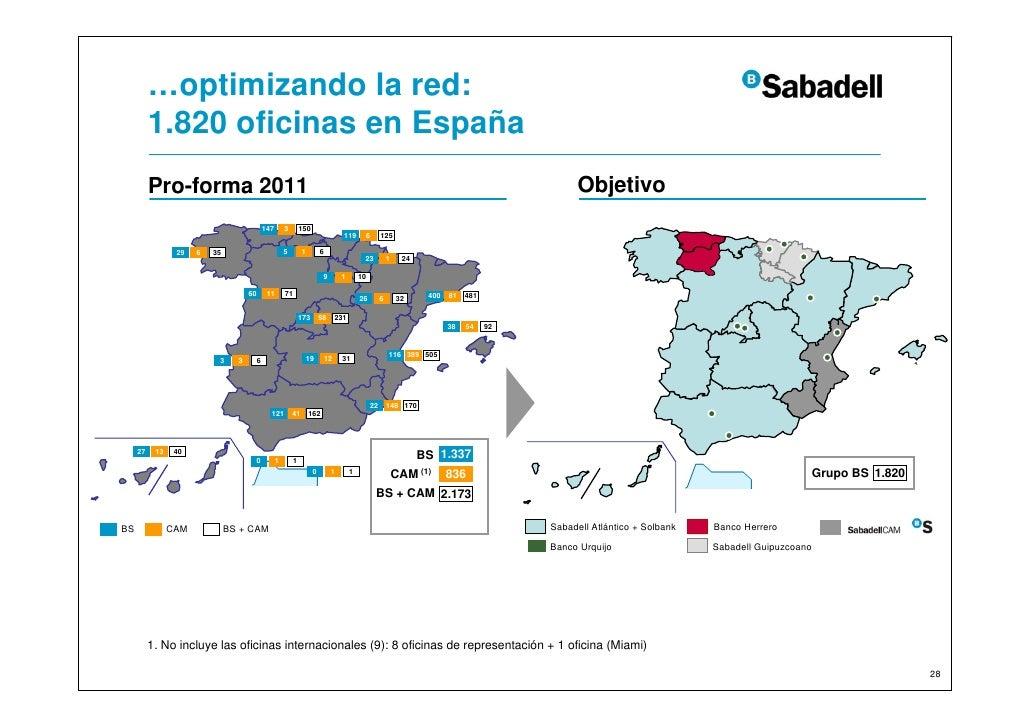 Resultados banco sabadell for Oficinas sabadell madrid