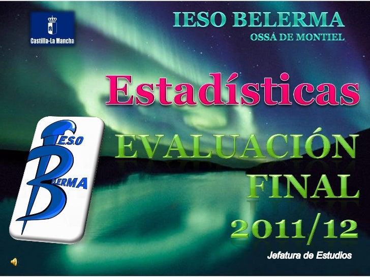  Primeros de ESO    –   Resultados por materia    –   Resultados por grupo. Evolución    –   Comparación con la evaluació...