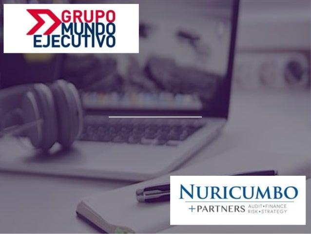 ENCUESTA GLOBAL DE RESILIENCIA DE NEGOCIOS BUSINESS RESILIENCE GLOBAL SURVEY GRUPO MUNDO EJECUTIVO / NURICUMBO + PARTNERS ...