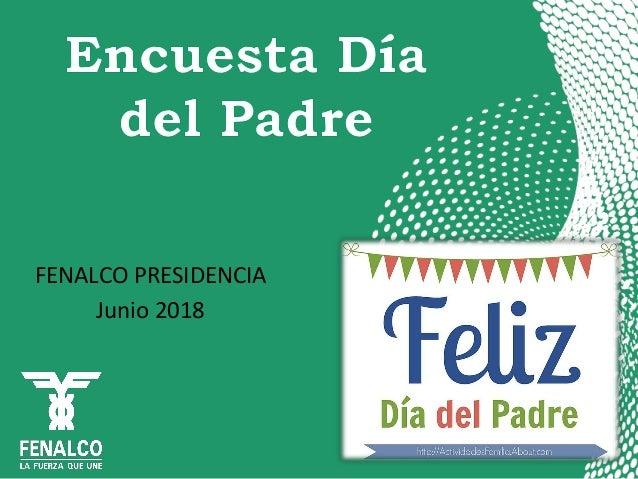 FENALCO PRESIDENCIA Junio 2018