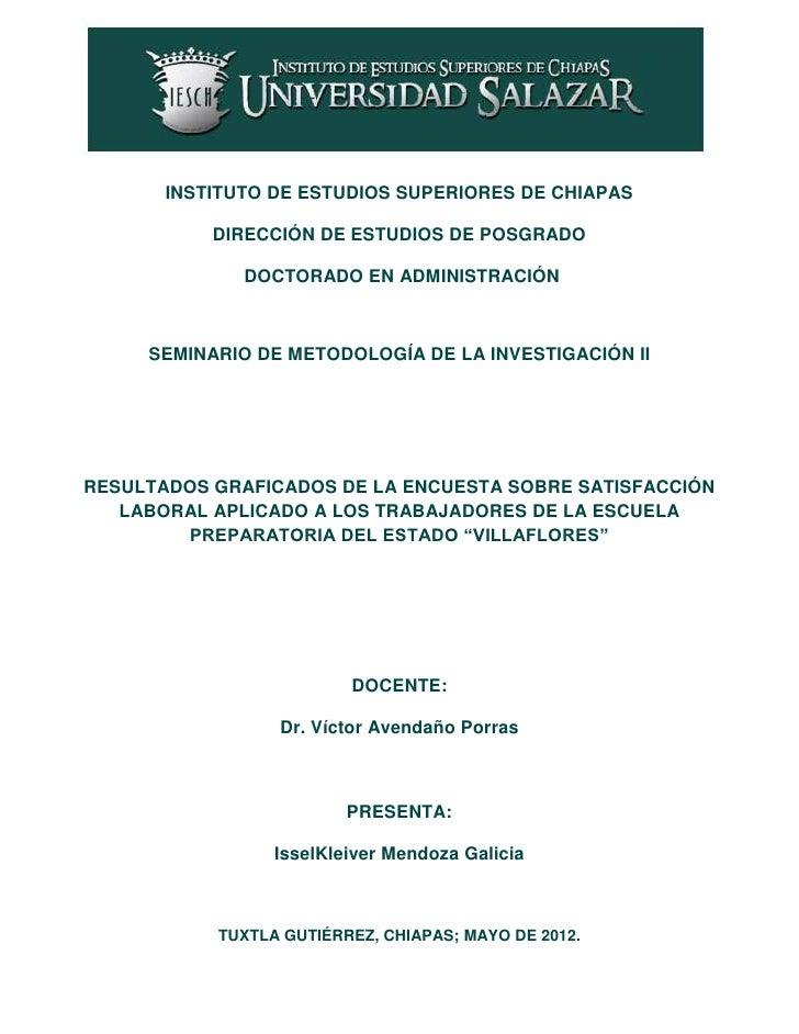 INSTITUTO DE ESTUDIOS SUPERIORES DE CHIAPAS           DIRECCIÓN DE ESTUDIOS DE POSGRADO              DOCTORADO EN ADMINIST...
