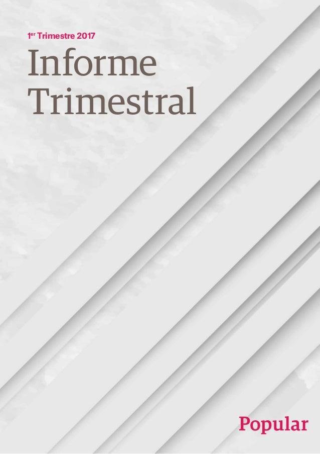 Informe Trimestral 1er Trimestre 2017