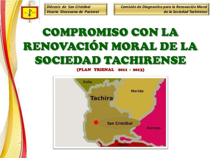 Diócesis de San Cristóbal             Comisión de Diagnostico para la Renovación Moral  Vicaria Diocesana de Pastoral     ...