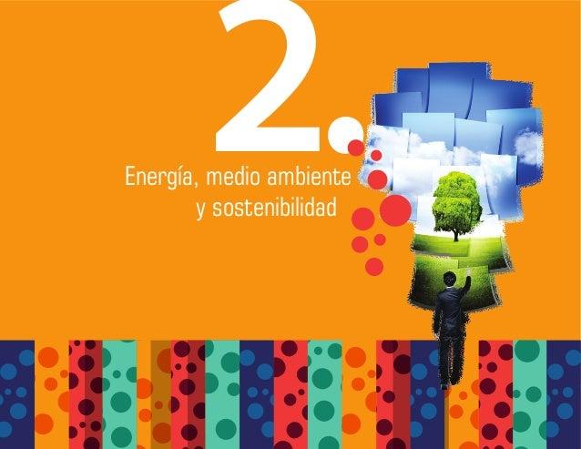 Energía, medio ambiente y sostenibilidad 2.
