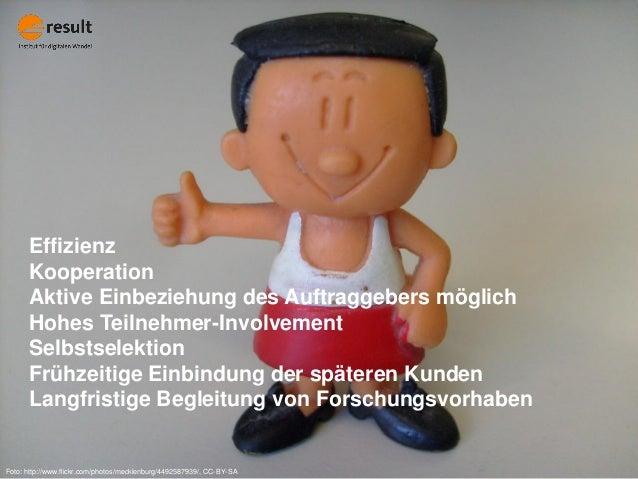 Foto: http://www.flickr.com/photos/mecklenburg/4492587939/, CC-BY-SA Effizienz Kooperation Aktive Einbeziehung des Auftrag...