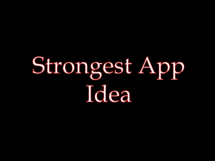 Which One Is Better?   Give each of the app ideas the medal you think it deserves!                                        ...