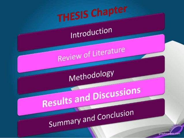 chapter 4 thesis discussion Chapter v discussion when discussing implications, deal with both the theoretical and the practical on the fifth day, deliver thesis chapters to committee members, make appointments for consultation with experts whose help you need, and take care of all those other time-consuming chores.