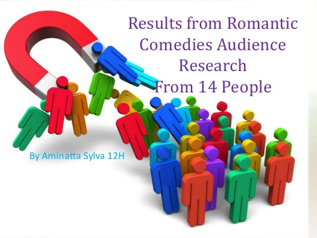Results from Romantic Comedies Audience Research From 14 People  By Aminatta Sylva 12H