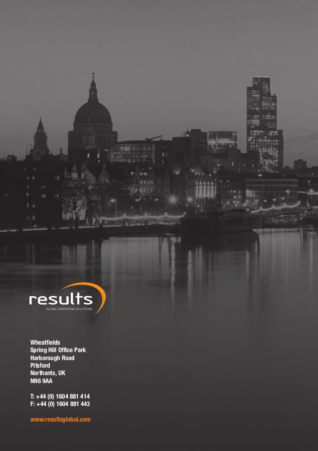 Results Global Brochure Single Page