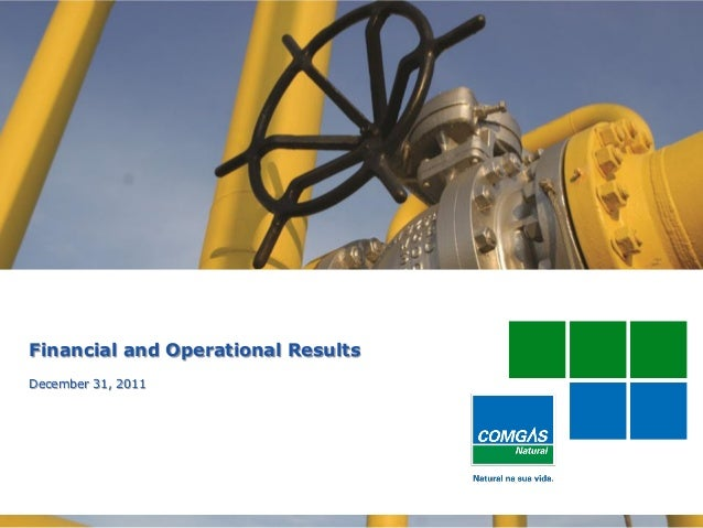 1Financial and Operational ResultsDecember 31, 2011