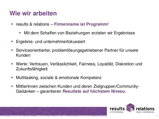 Wie wir arbeiten   results & relations – Firmenname ist Programm!   Mit dem Schaffen von Beziehungen erzielen wir Ergebn...