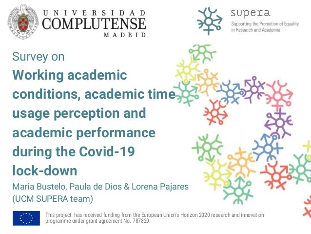 Survey on Working academic conditions, academic time usage perception and academic performance during the Covid-19 lock-do...
