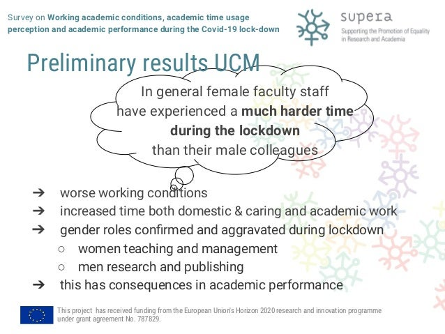 Survey on Working academic conditions, academic time usage perception and academic performance during the Covid-19 lockdown Slide 3