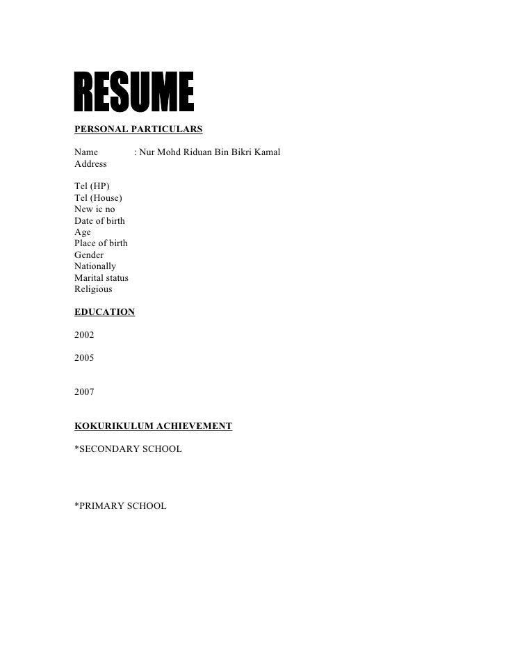 Resume 100126072449-phpapp02 (1)