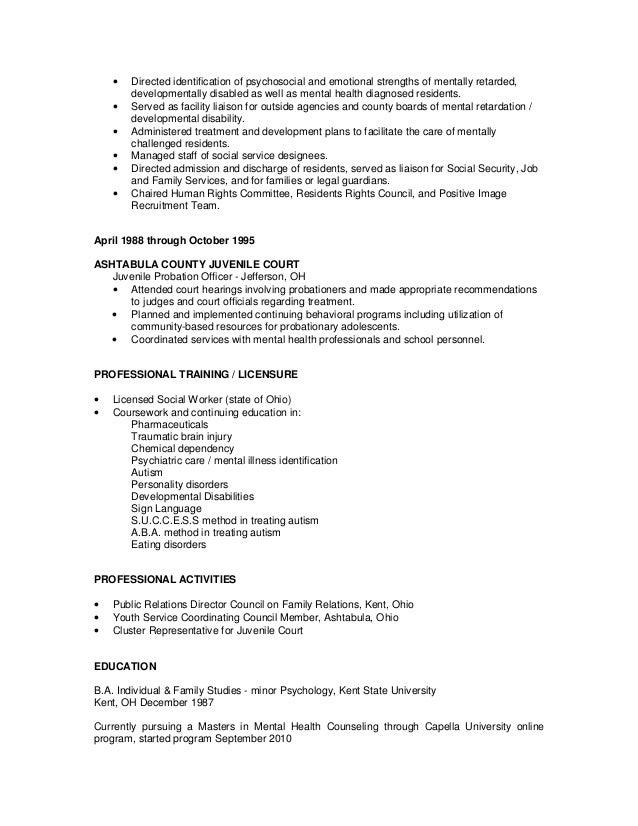 carol p  resume