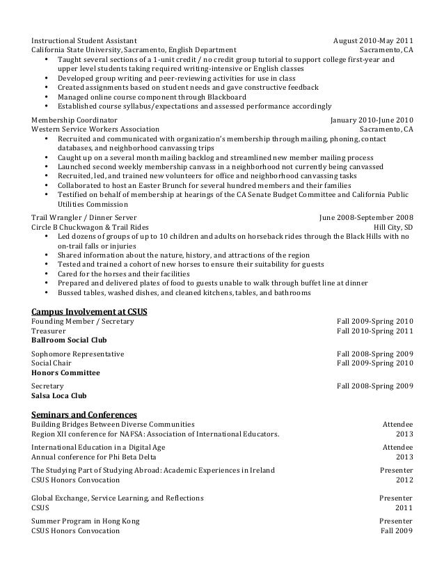 Resume for first year university student resume ideas for First year university student resume sample