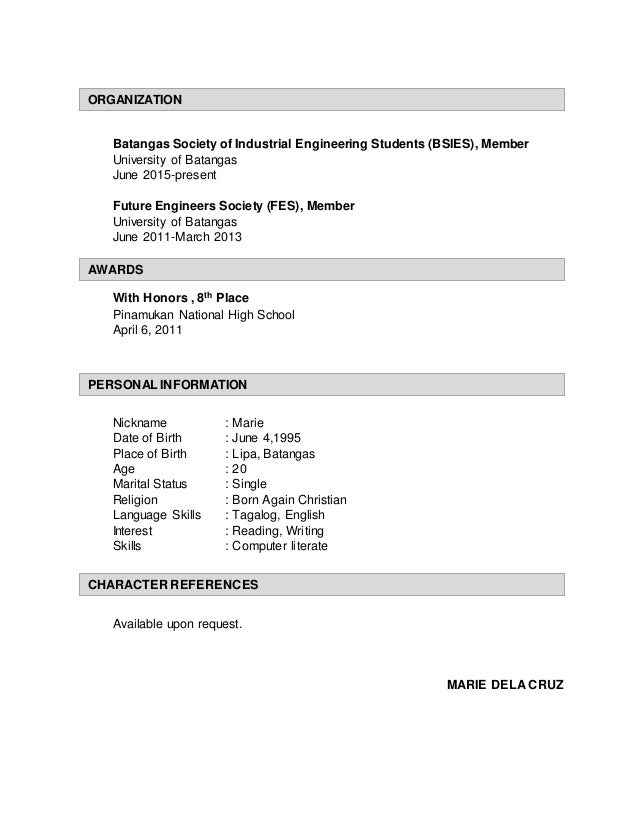 industrial engineer sample resume