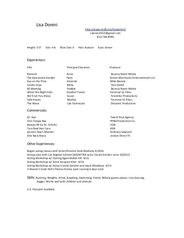 Magnificent Resume Classes Los Angeles Pictures Inspiration ...