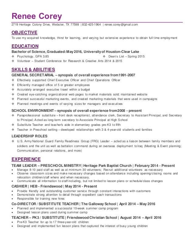 Phd in ed psych resume