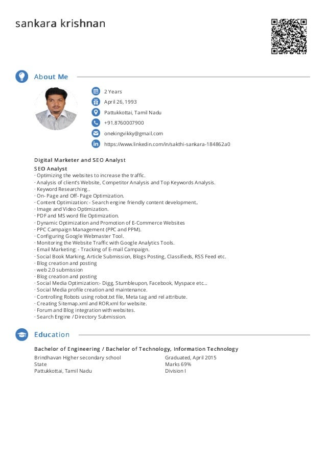 2 Years April 26, 1993 Pattukkottai, Tamil Nadu +91.8760007900 onekingvikky@gmail.com https://www.linkedin.com/in/sakthi-s...