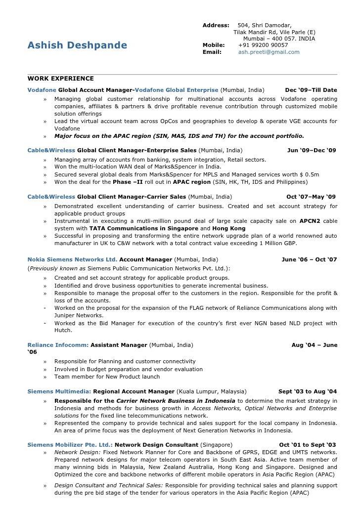 Resume-Ashish Deshpande
