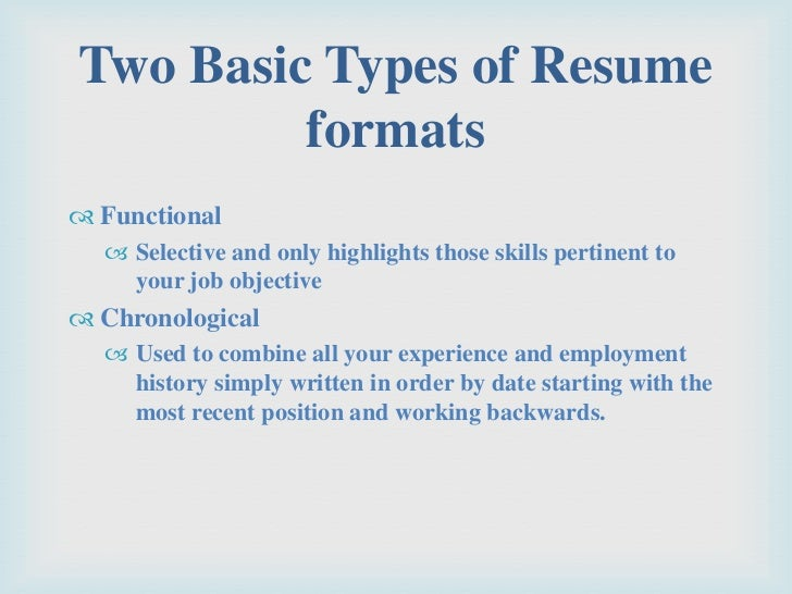Resume Format Guide Chronological Functional Combo Chronological Order  Resume Template Casaquadro Com