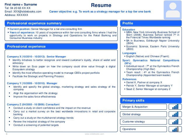 Stunning Creative Resume Templates Resume PowerPoint Template  Powerpoint Resume