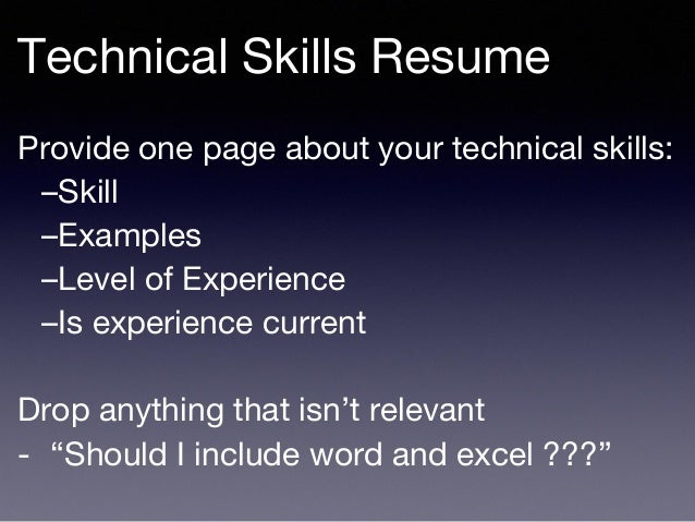 Experience Resume ○ Role ○ Company ○ Key Skills ○ Actions ...