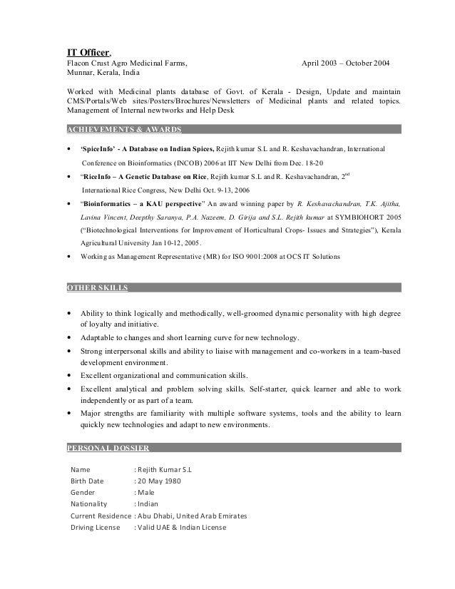 resume - social media specialist