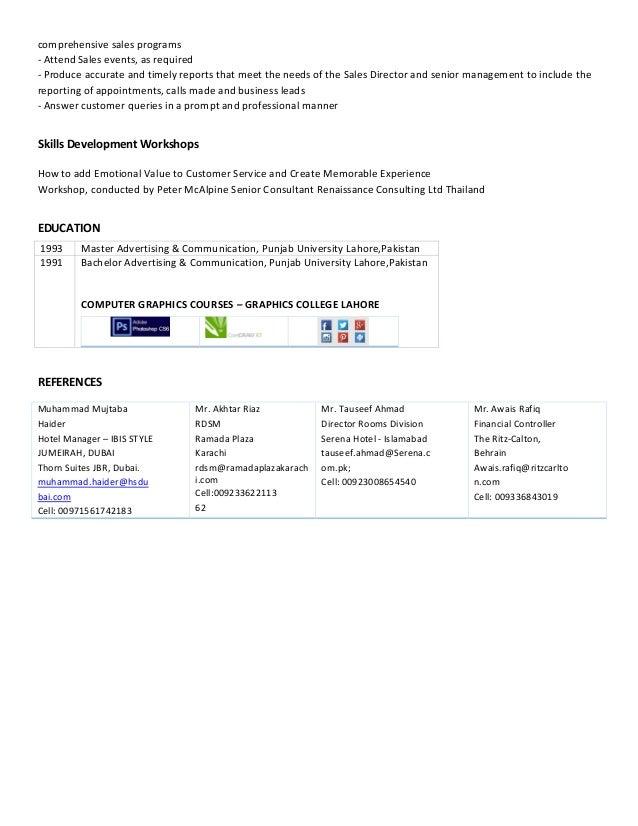 Laila Naz Resume Slide 3