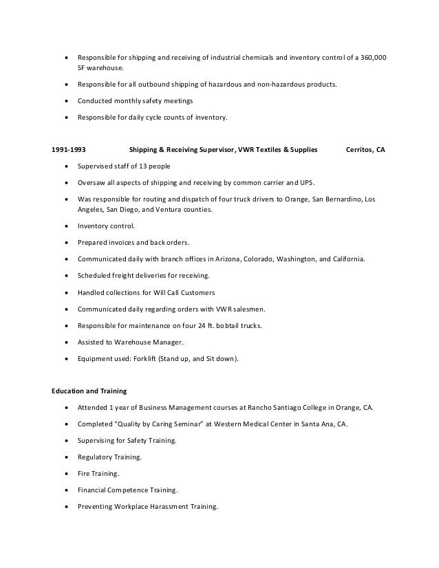 3 - Resume Recommendations