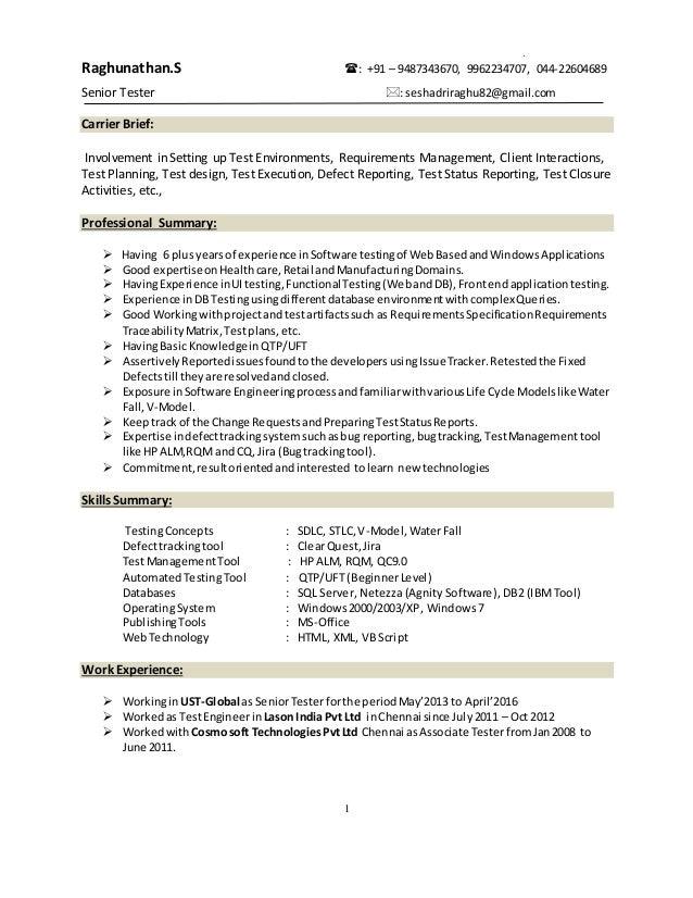resume raghu