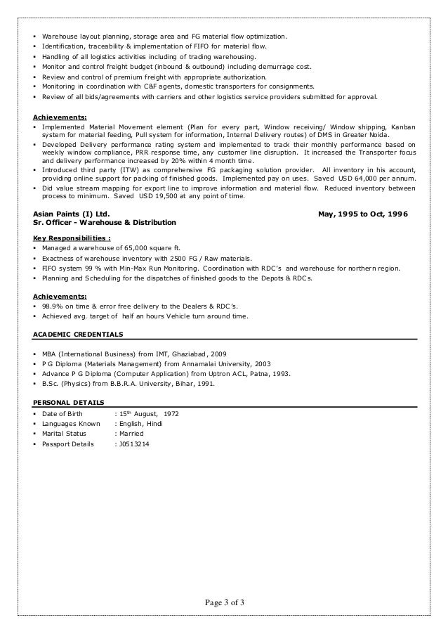 Resume Rakesh Kumar