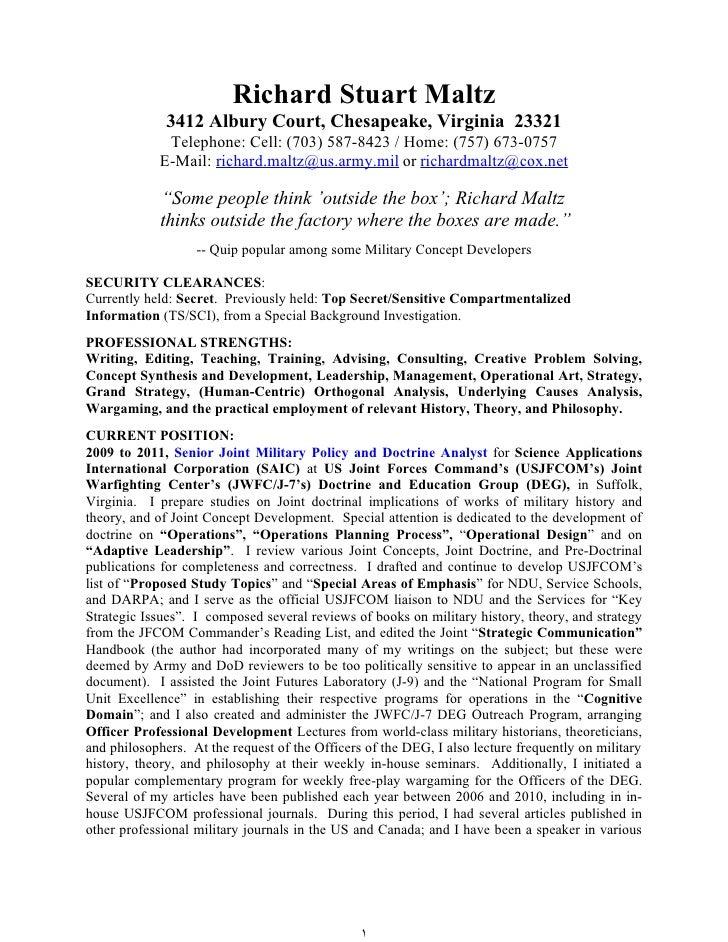 Infantry Resume   Resume Cv Cover Letter