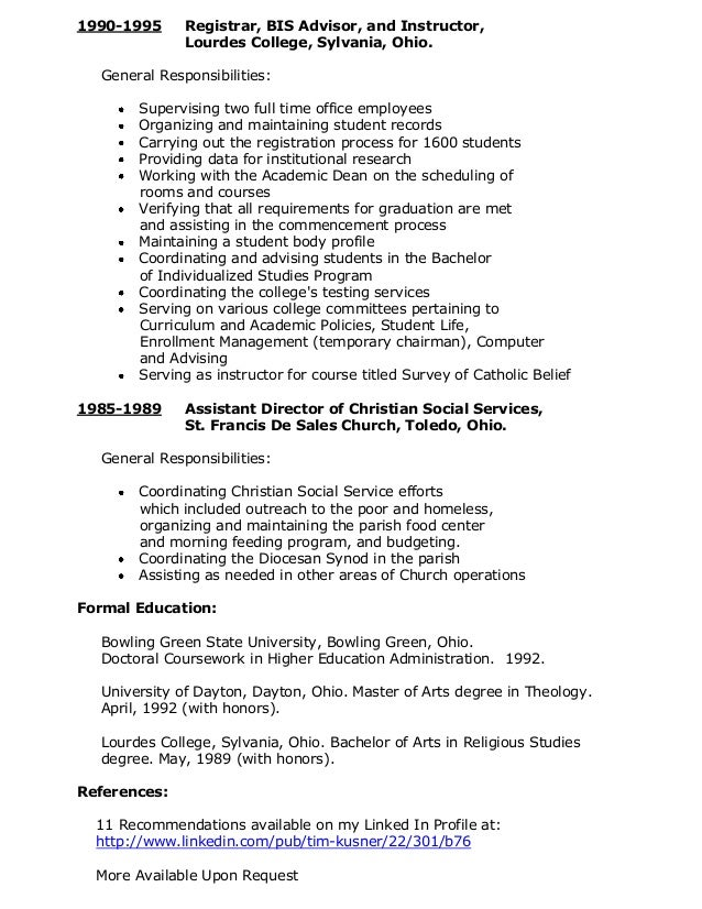 3 - Help Me With My Resume