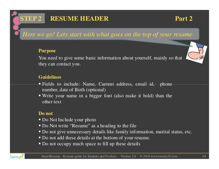 Smartest Resume Guide For Students And Freshers