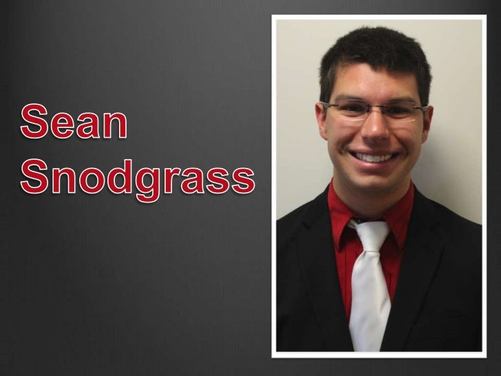 My name is Sean Snodgrass and Im from Jeffersonville,IN. I am currently a senior at the Kelley School of Businessstudying ...