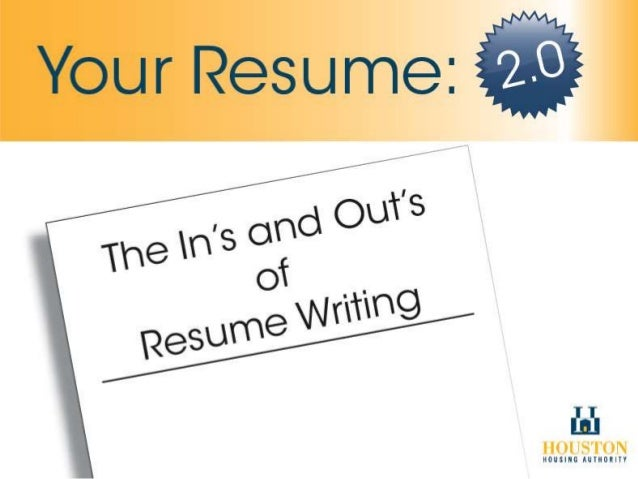 resume writing service houston