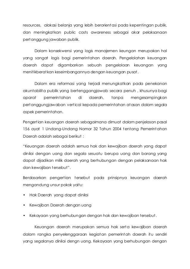 Resume Administrasi Keuangan Daearah