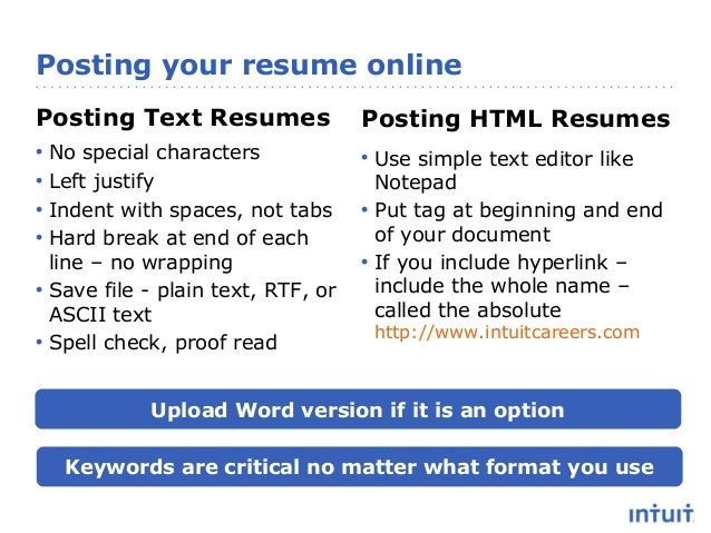 Resume Advice That Works - Get in and get noticed!