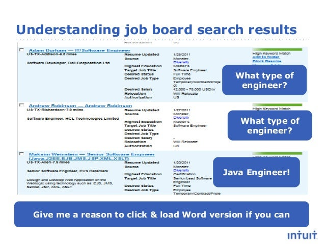 resume advice that works