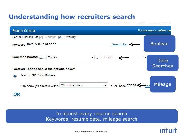 Resume Advice - Intuit Careers Facebook Video Chat Feb 2011